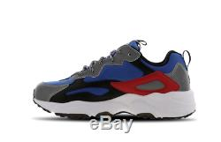 Fila Ray Tracer Blue-Black-Red Men's Trainers Limited Stock All Sizes