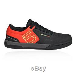 Five Ten Mens Freerider Pro Mountain Bike Shoes Black Red Sports Breathable