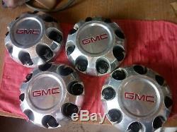 GMC 2500HD 15052381 Factory OEM Wheel Center Rim Cap Hub Cover 8 Lug 5075 CHROME