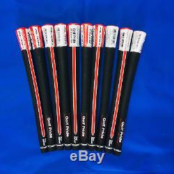 Genuine Golf Pride Tour Velvet Align Grips Standard Size Blk/wht/red Free Tape
