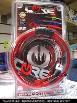 Honda Cbr954rr 2002-2003 Front Custom Brake Line Kit Core USA (2 Lines)