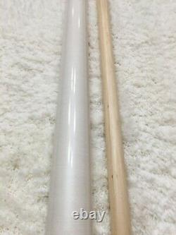 IN STOCK, Meucci EC7 Pool Cue with Black Dot Shaft, FREE HARD CASE, (red)
