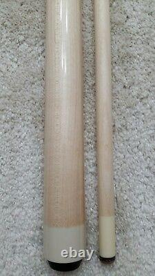 IN STOCK, Meucci Maple Wrapless Pool Cue, Red Dot Shaft, FREE BLACK HARD CASE