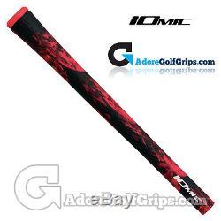 Iomic Sticky Army 2.3 Grips Black / Red x 9