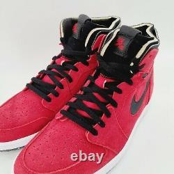 Jordan 1 High Zoom Air CMFT CT0978 600 Gym Red Suede Bred Size 14 NIB