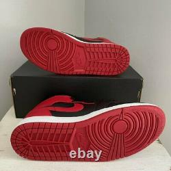 Jordan 1 Mid Banned 2020 554724-074 Black Red Nike Air
