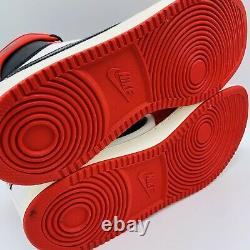 Jordan 1 Retro AJKO Chicago 2021 White Red Black Men's Size 15 DA9089-100 No Lid