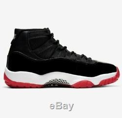 Jordan 11 Bred 2019 Brand New OG Never Opened Mens 10.5 Dead Stock Black & Red