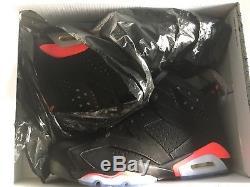 Jordan 6 Retro Infrared Black 2014 Deadstock BRED US 8,5 EUR 42 NIKE AIR J´s OG