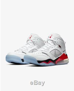 Jordan Mars 270 White Fire Black Red Men's Trainers Limited Stock All Sizes