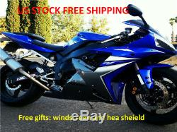 KING US Stock Fairing Fit for Yamaha 2002 2003 YZF R1 Injection ABS Plastic r0a9
