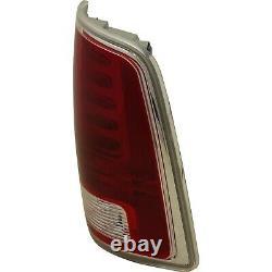 LED Tail Light for 2013-2016 Ram 1500 & 2500 & 3500 RH CAPA Chrome/Laramie Trim