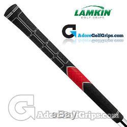 Lamkin TS1 Standard PLUS Grips Black / Red / White x 9