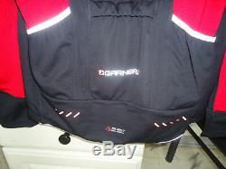 Louis Garneau Spire Convertible Jacket Men's Large (l) Black / Red $179.99