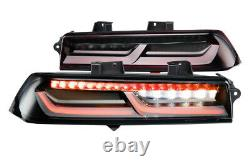 Morimoto XB LED Plug & Play Red Tail Light Assemblies For 2014-2015 Chevy Camaro
