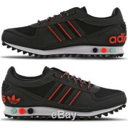 NEW Adidas LA Trainer II Black-Red-White Men Trainers Limtied Stock All Sizes