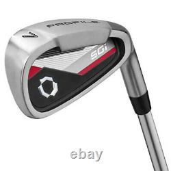 NEW Wilson Profile SGI Mens Complete Golf Club Set with Driver, Irons, Bag, Putter
