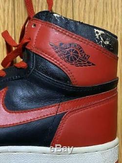 NIKE AIR Original Jordan1 new-old vintage Stock Black Red Bred same Hanamichi's
