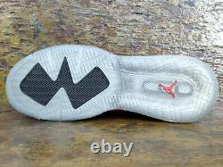 NIKE JORDAN MARS 270 Low Black Red Basketball Shoe UK 12 Eur 47.5 CK1196-001