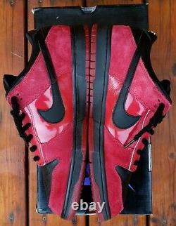 NIKE SB Dunks MILLI VANILLI 12 Varsity Crimson Red Black Jordan 1 Low 304292 602