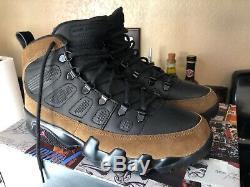 New Air Jordan 9 IX Retro Boot NRG Olive Black True Red size 8.5 (Dead Stock)