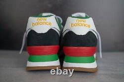 New Balance 574 Rugged Blue Red Black White ML574DRY Men Size 8-13 NEW DS