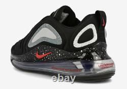 New Nike Air Max 720 Undercover Cn2408 001 Black Red 90 1 180 Uk 12 Us 13