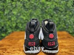 Nike AIR JORDAN 9 IX RETRO Countdown Space Jam CDP White Black Red 302370-161