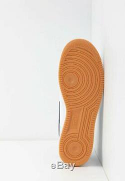 Nike Air Force 1 07 Mens White Black Red Brown Shoe Sneaker UK 6-12