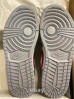 Nike Air Jordan 1 HI FLYEASE Shoes Black Red Grey CQ3835-002 Mens Size 11 NEW