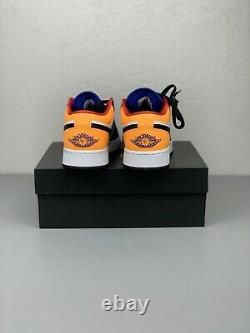 Nike Air Jordan 1 Low AJ1 Royal Yellow Blue White Black Red Men Shoes 553558-123
