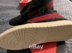 Nike Air Jordan 1 Retro Defiant Couture Black Red Bnib Uk7.5 Us8.5 42 Off White