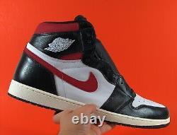 Nike Air Jordan 1 Retro High OG'Black Gym Red' Men's Shoes Size 18 555088-061