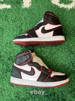 Nike Air Jordan 1 Retro High OG Bloodline Size 8 Black Red White 555088-062