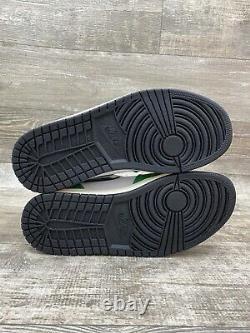 Nike Air Jordan 1 Retro High OG Lucky Green White Black Red Sz 10 8.5 DB4612-300