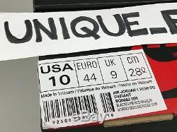 Nike Air Jordan 1 Retro High Og Defiant Couture Us 10 Uk 9 44 2019 Black Red