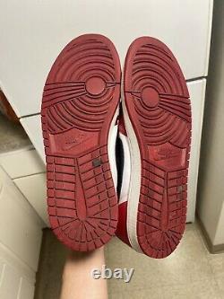 Nike Air Jordan 1 Retro Low OG Chicago White Black Red Bred One Sz 10
