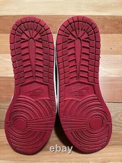 Nike Air Jordan 1 Size 15 Retro High OG Red Black Toe White Bred One 2013