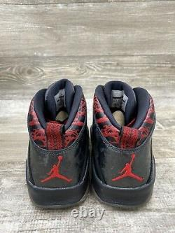 Nike Air Jordan 10 X Retro Db Doernbecher Black Red Grey Graphite 636214-066 7.5