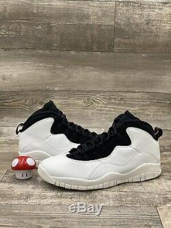 Nike Air Jordan 10 X Retro I'm Back Summit White Black Red 310805-104 Size 13