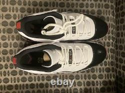 Nike Air Jordan 11 Retro XI Low Concord Bred Black/red Av2187-160 Size 14