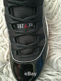 Nike Air Jordan 11 XI Retro OG Bred Black Red Patent 2019 UK 8 US 9 EU 42.5