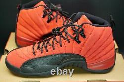 Nike Air Jordan 12 Retro Reverse Flu Game Trainers OG Red Black Sneakers CT8013