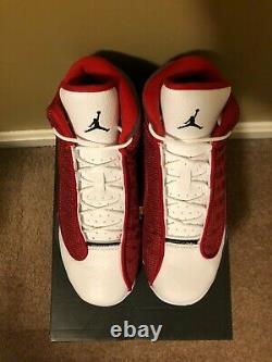 Nike Air Jordan 13 Retro 2021 Gym Red Flint Size 5.5Y-13 (DJ5982-600) SHIPS FAST
