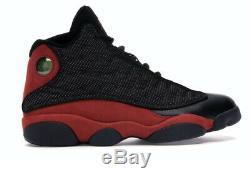 Nike Air Jordan 13 Retro OG Bred Black Red White 2017 Size 10.5 414571-004