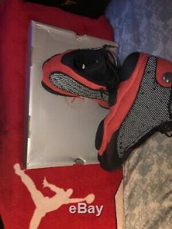 Nike Air Jordan 13 XIII Bred black red Size 11 retro og Super Nice Dead Stock