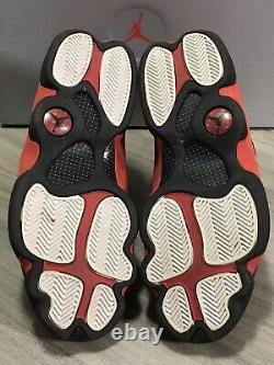 Nike Air Jordan 13 XIII Retro Bred 414571-004 Black/Red Reflective Mens sz. 9