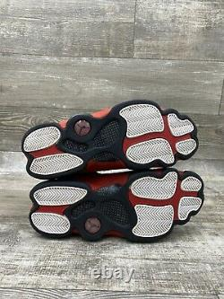 Nike Air Jordan 13 XIII Retro Bred 414571-004 Black Red White Mens Size 10 2017