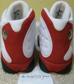 Nike Air Jordan 13 XIII Retro Shoes 2010 Cherry Red White Black Flint 1 9 Men 10