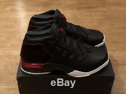 Nike Air Jordan 17 Retro Black Red Trainers Size Uk11 Eur46 Us12 832816 001